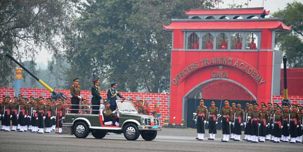 Chief Of The Air Staff, Air Chief Marshal Arup Raha Reviewing Parade