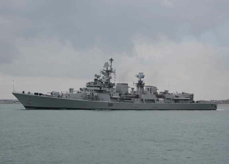 Indian Navy: Delhi-Class Destroyer