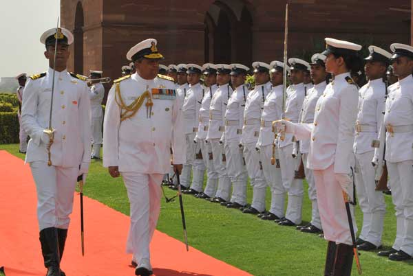 Commander's-in-Chief call on 'Chief of the Naval Staff' at IHQ MoD (NAVY)