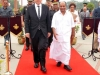 French Minister of Defence, Mr Jean-Yves Le Drian, and Defence Minister of India AK Antony