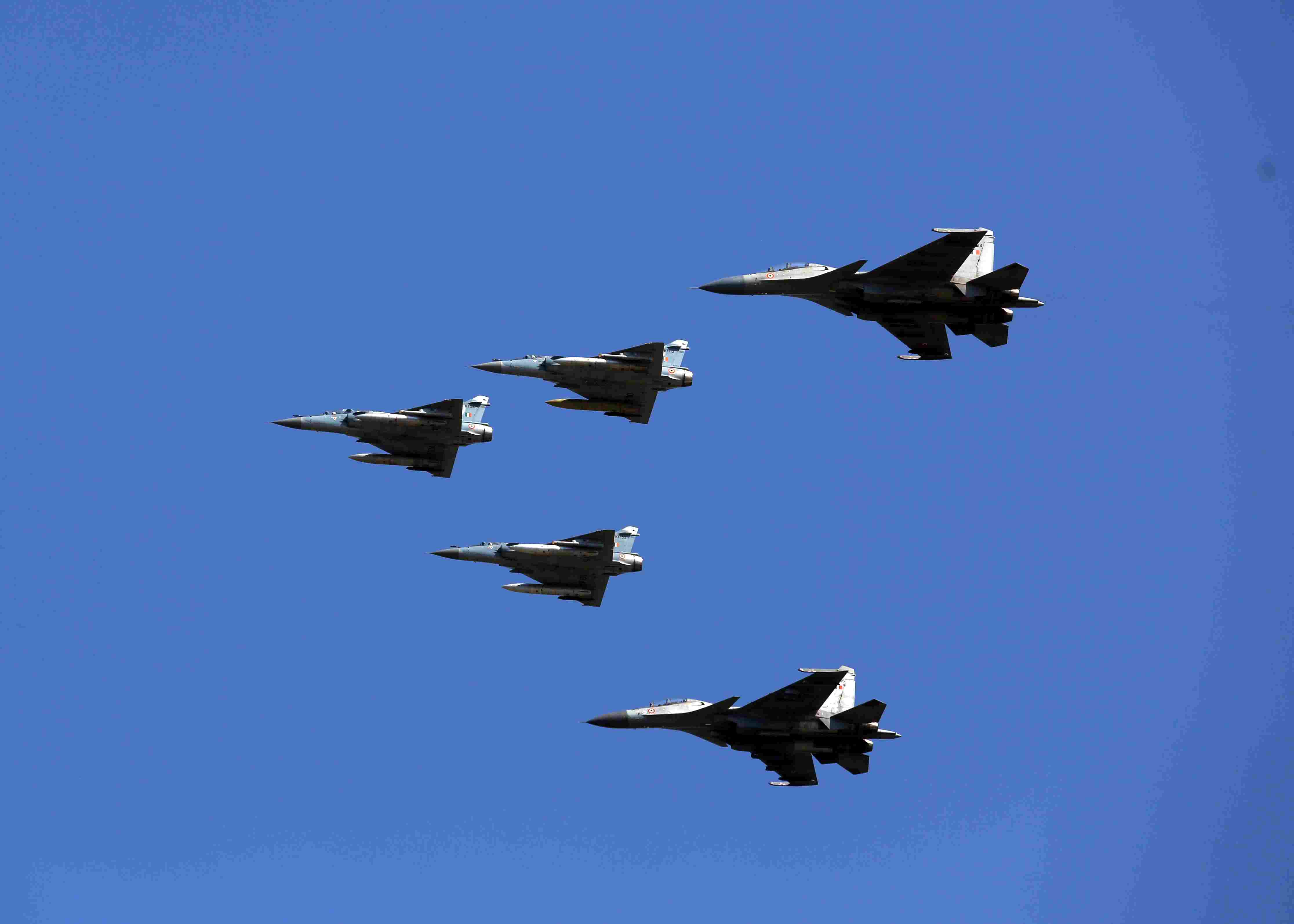 Glimpses of Air Force Day Parade 2019