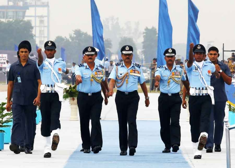 Glimpses of Air Force Day 2013 at Air Force Station Hindan