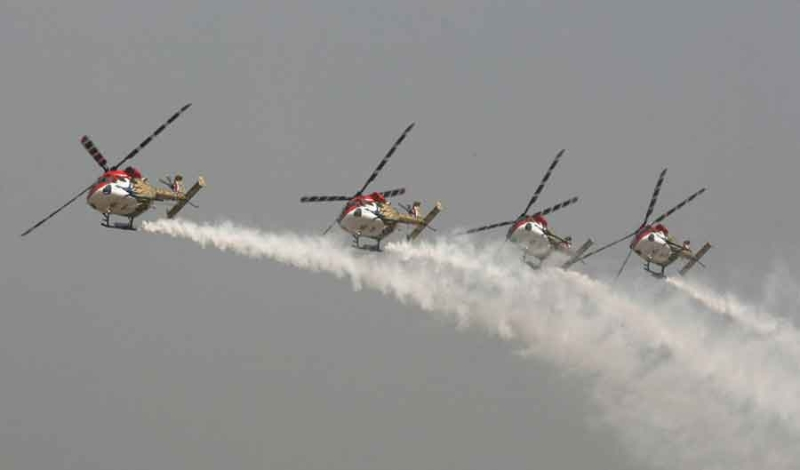 Glimpses of the Aero India: Day-2