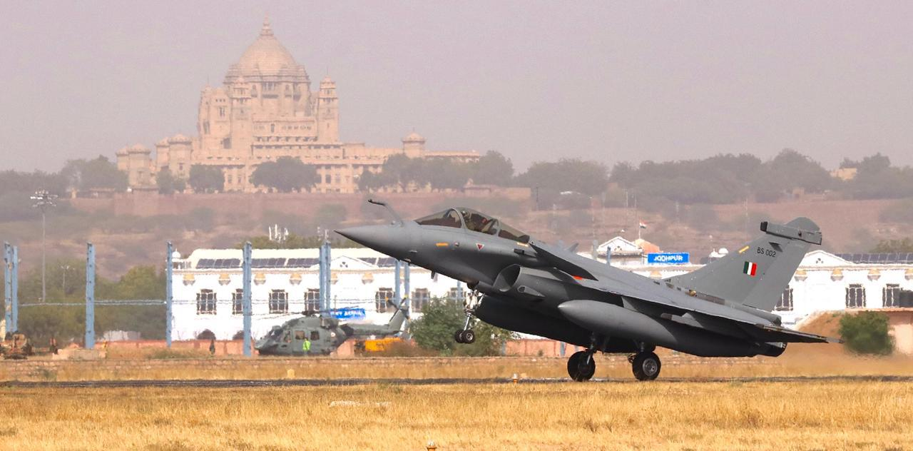 IAF and FASF conclude Ex Desert Knight 2021