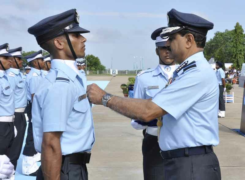 IAF welcomes 216 newly commissioned flying officers