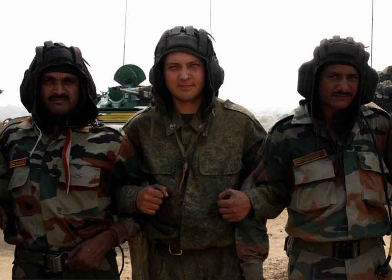 Indo-Russia Joint Military Exercise – INDRA