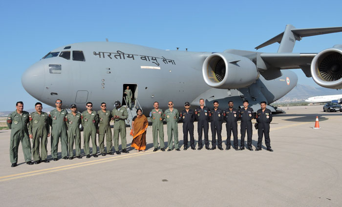 INDO-UK Bilateral Air Exercise Indradanush-IV conducted in UK