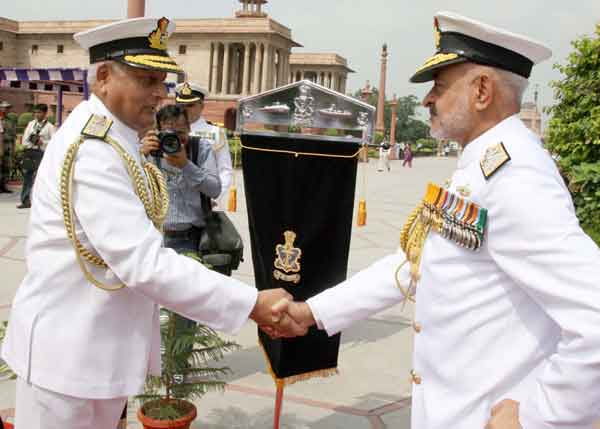 Navy's New Chief