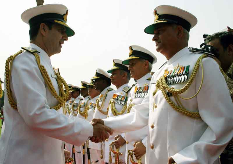 Admiral RK Dhowan Assumes Command of the Indian Navy