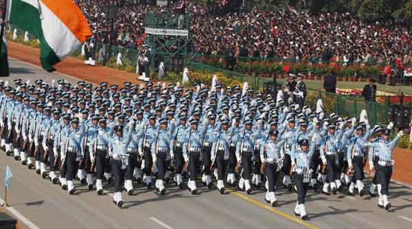 Indian Air Force Marching Contingent