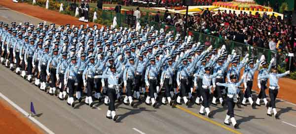 Republic Day Parade and Flypast at Rajpath
