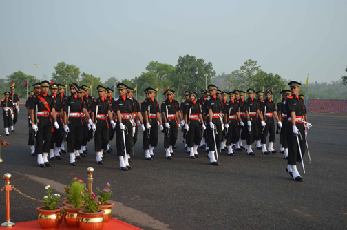 A Contingent Passing From the Saluting Base