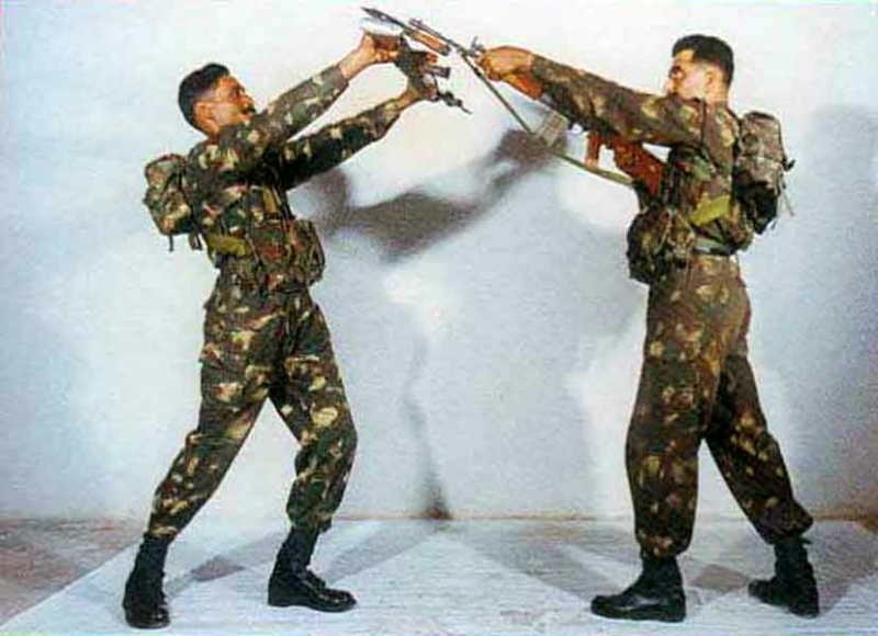Basic Training: Bayonet Fighting