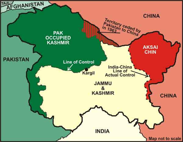 Image result for india pakistan kashmir