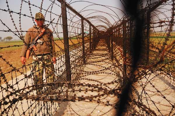 border fencing india