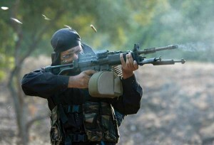 A-marine-commando-in-action