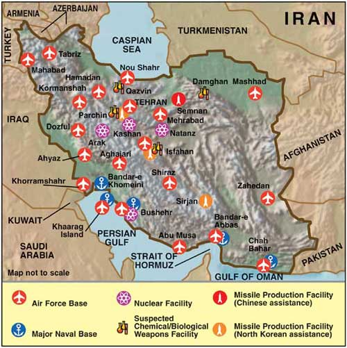 Iran's Threat Perception » Indian Defence Review