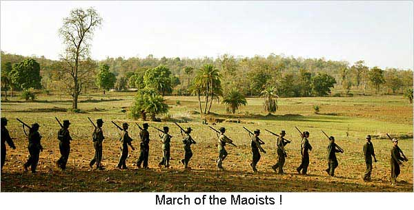 Are the anti-Maoist operations fake?