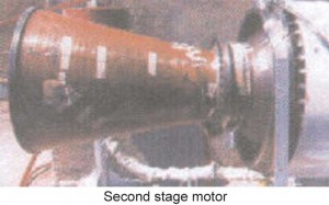 Second-stage-motor
