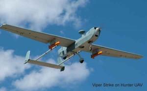 Viper_Strike_on_Hunter_UAV