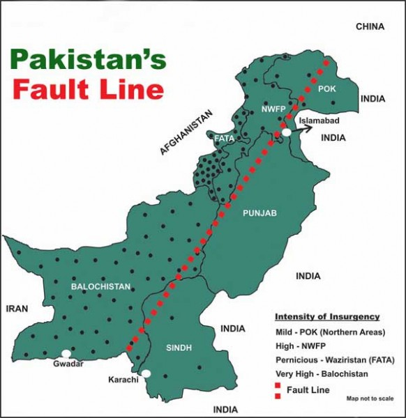 Pakistan: Reeling under the impact of self created fault lines