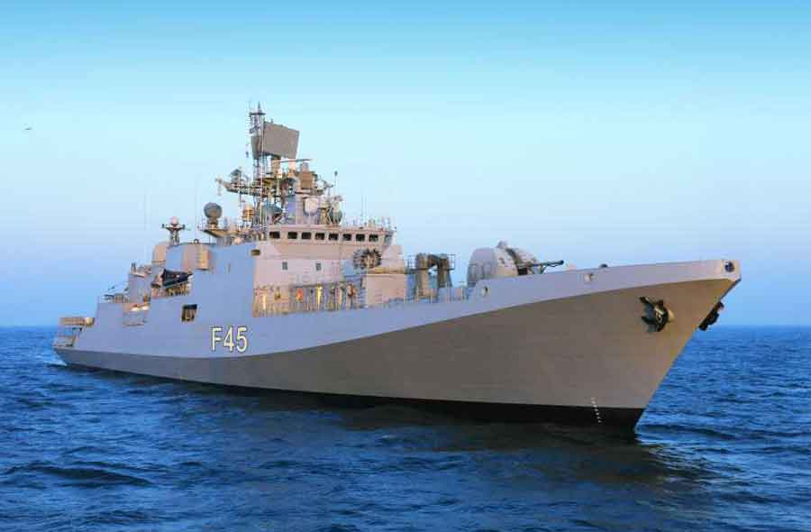 India s new stealth frigate ins teg 187 indian defence review