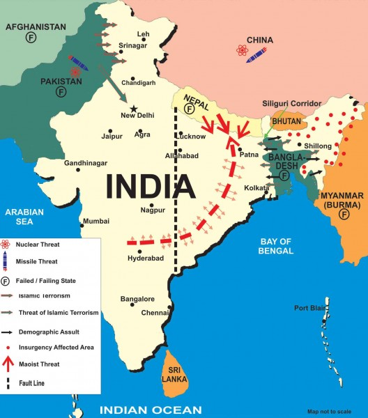 Idea of Bharat (India) Under Multiple Attacks