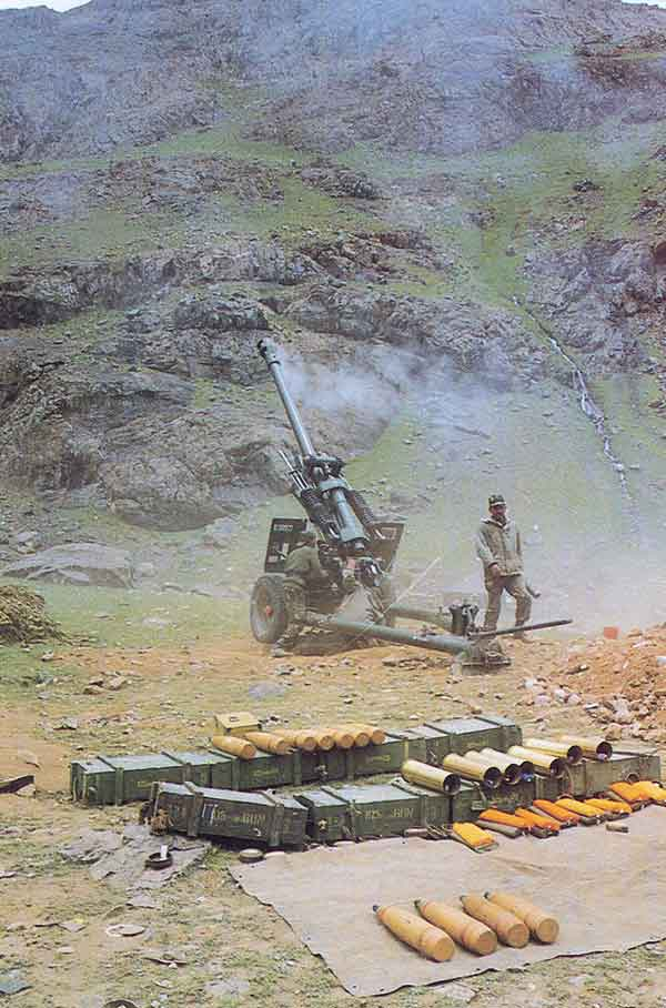 Battle-Winning Role of the Gunners in Kargil War
