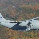 Alenia Aeronautica C27J Spartan military transport aircraft