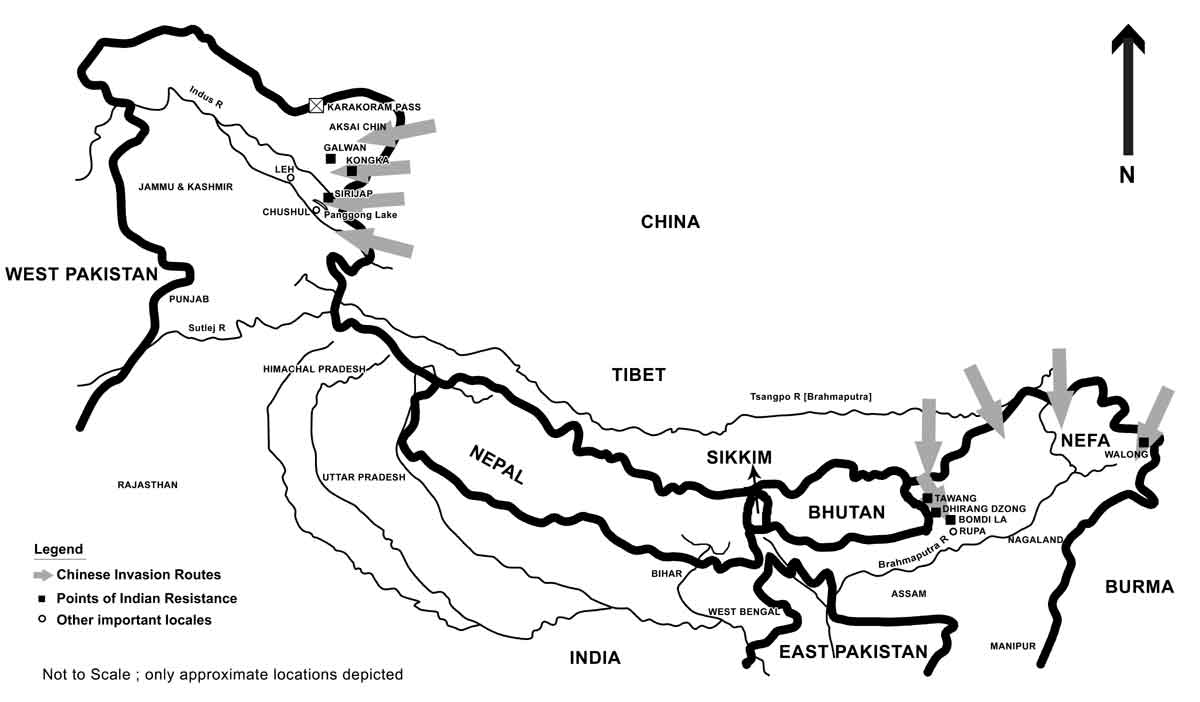 the sino indian border conflicts Relations between contemporary china and india have been characterised by border disputes, resulting in three military conflicts — the sino-indian war of 1962, the chola incident in 1967, and the 1987 sino-indian skirmish.