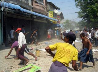 Buddhist-Muslim Clashes in Meikhtila