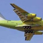 Maiden Flight of China's Y-20 Air Freighter