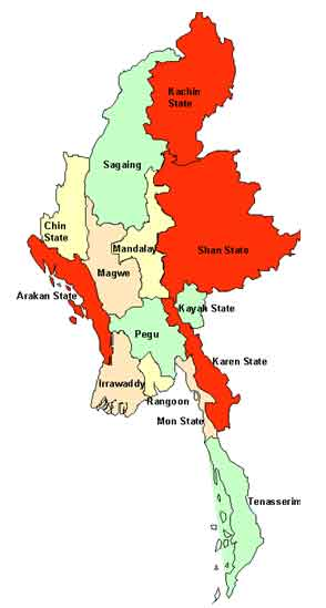 Myanmar: Recent Developments: The China Factor