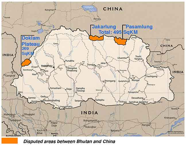 Image result for Doklam area
