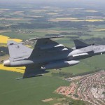 Saab Offers to set up World's Most Modern Fighter Aircraft Facility in India