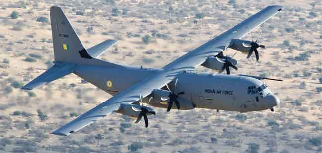 Six Additional C 130j Super Hercules For The Indian Air