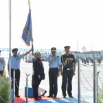 President's Standards awarded to IAF's 220 SQN and 32 SQN at Halwara