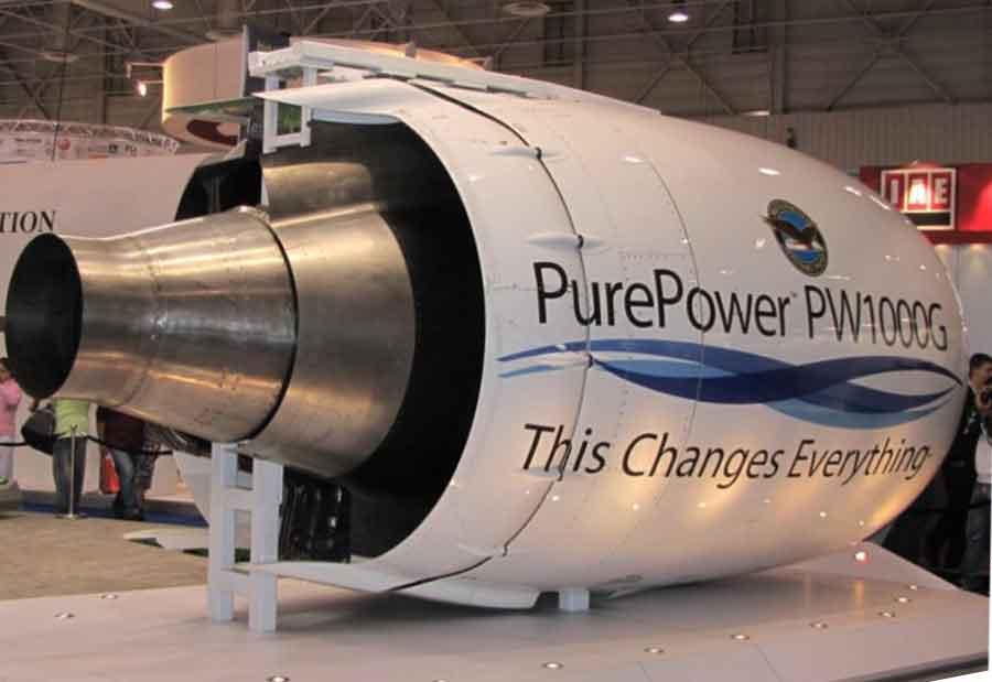 pratt whitney ships initial purepower engines to airbus indian