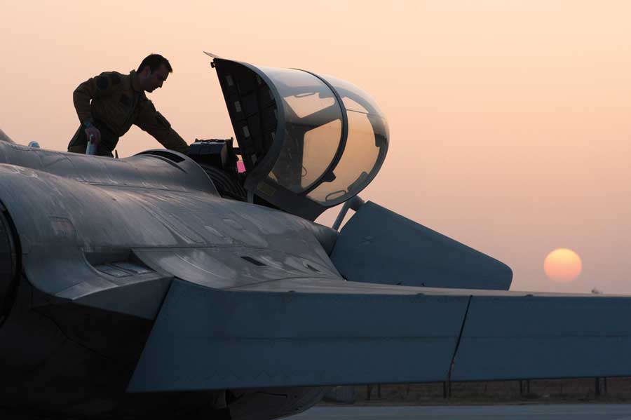 Which combat jet for the Indian Air Force?