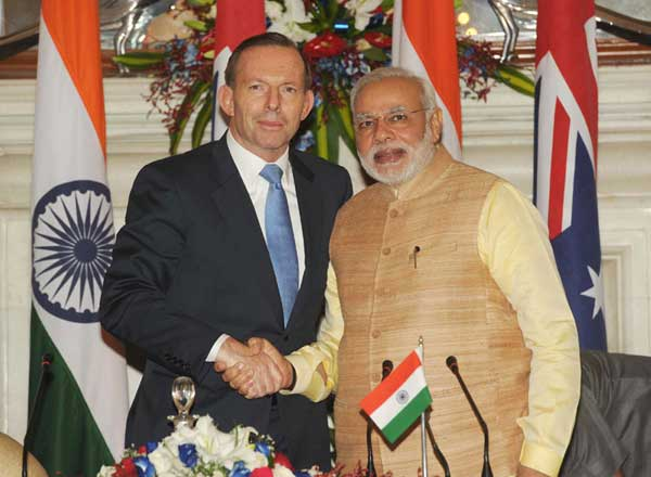 How India and Australia became happy allies?