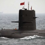 Chinese Nuclear Submarine Surfaces in Colombo