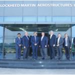 Lockheed Martin Leaders Visit Tata-Lockheed Martin Aerostructures Facility