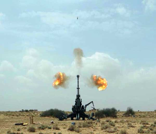 "Dhanush 155mm Artillery Gun: A ""Make in India"" Marvel - Indian"