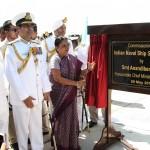 Naval Base at Porbandar Commissioned as INS Sardar Patel