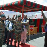 Raksha Mantri visits the Siachen Glacier