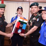 NCC Girls Expedition to Mt Deo-Tibba Flags Off