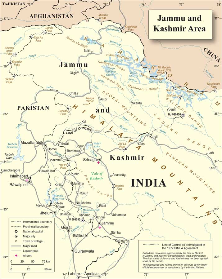 The Journey Of Kashmir From Independence Till Pre Terrorism Indian