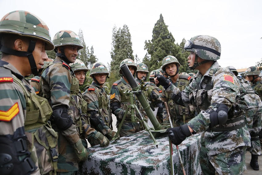 Exercise Hand-in-Hand: Counter-terrorism Cooperation between India and China is Odd