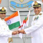 Captain Krishna Swaminathan takes over Command of Aircraft carrier INS Vikramaditya