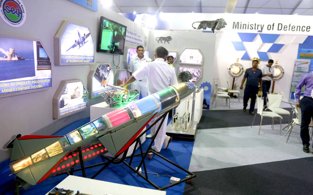indian navy participates in make in india week